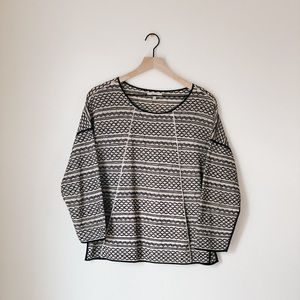Madewell Patterned Long Sleeve